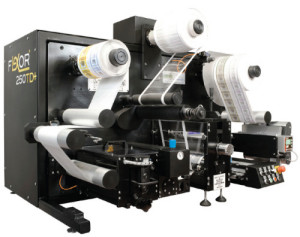 Flexor 250TD Table Top Slitter Rewinder - CTC International