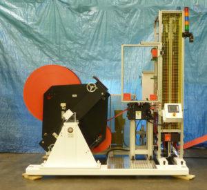Auto Splicer Handles 50 Inch Diameter Rolls