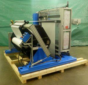 Floor Loading Semi-auto Splicer Provides non-stop Production
